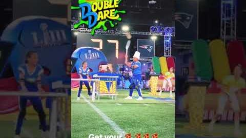 "Double Dare - ""Double Dare at Super Bowl"" Russell Wilson BTS (3 6)"