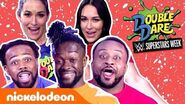 The Bella Twins & The New Day CRASH Double Dare's WWE Week! 😁 NickStarsIRL