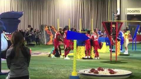 "Double Dare - ""Double Dare at Super Bowl"" After Challenge"