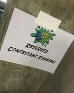 DD-Contestant Parking spot