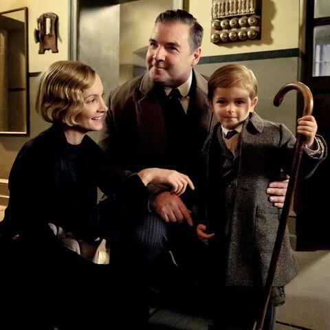 John and Anna Bates with son
