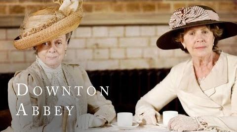 Dowager Vs Crawley Ethel Downton Abbey