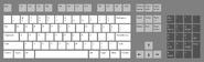 Dozenal computer keyboard