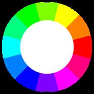 Standard (RGB) color wheel