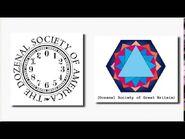 Dozenal society digits and logo