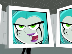 S01e11 Ember on the screen close up