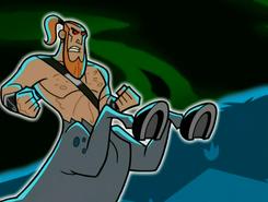 S03e08 centaur ecto blast hooves 1