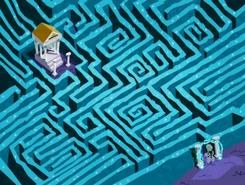 S03e08 maze aerial view