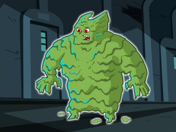 Snot Monster form (Temporary)