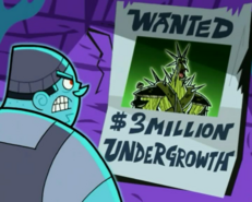 S03e08 Undergrowth wanted poster