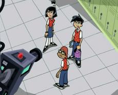 S03e01 trio in school uniforms