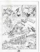 Brat's Entertainment page 8 - pencil