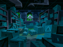 S03e08 BG lair interior