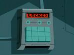S03e07 locked keypad