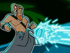 S03e08 centaur ecto blast hooves 2