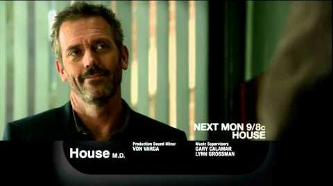 "House 8x08 - ""Perils of Paranoia"" Promo (HD)"