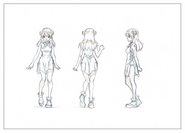 Yuzuriha Shading TV Animation Design Sheet