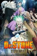 Dr. Stone Stone Wars Key Visual 4