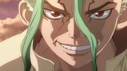 Senku excited to make gunpowder