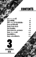 Volume 3 Table of Contents