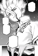 Senku rejects Hyoga