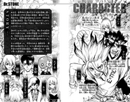 Volume 5 Character Page