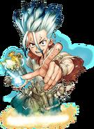 Character Poll 2021 Promo Senku