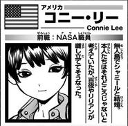 Connie Astronaut Bio