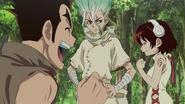 Senku reunited with friends