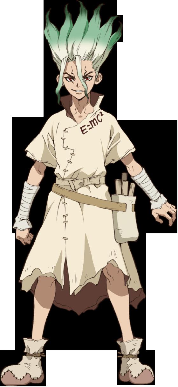 Senku Ishigami [Dr. Stone] Minecraft Skin