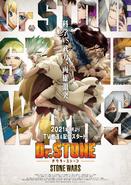 Dr. Stone Stone Wars Key Visual 3
