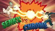 Senku vs. Chrome