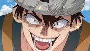 Chrome's evil smile