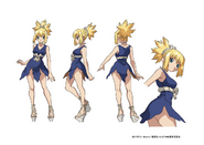 Kohaku TV Animation Design Sheet