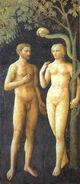 Masolino, Adam & Eva