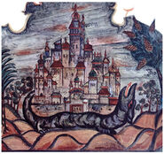 Lissitzky Cold synagogue Mogilev dragon 01