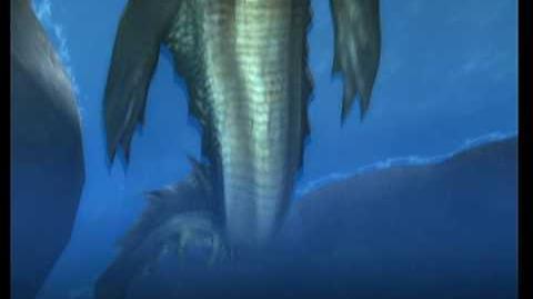 Monster Hunter 3 (Tri) - Lagiacrus Intro 1
