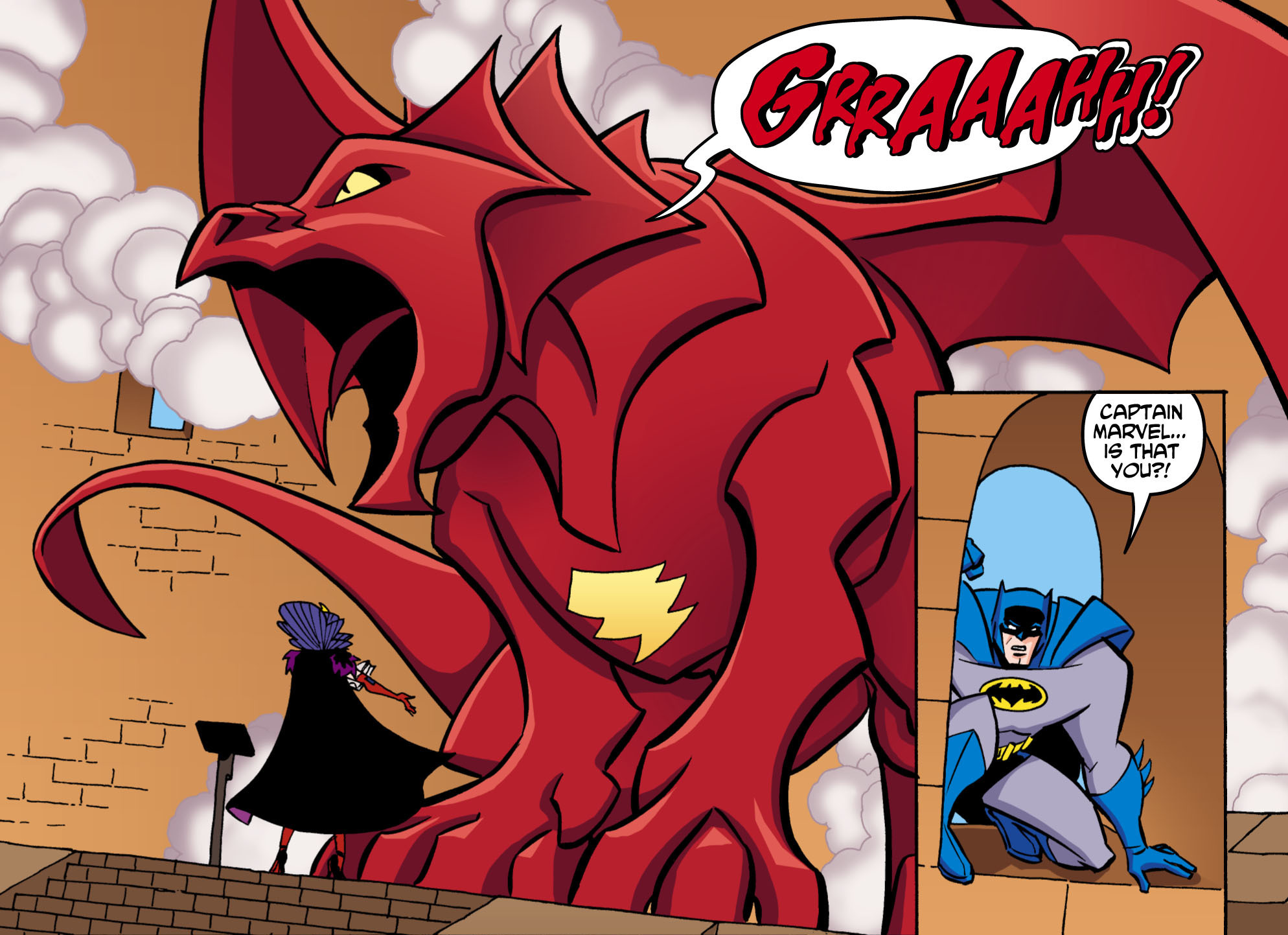 Captain Marvel as Dragon Batman-The Brave and the Bold(Vol1 5).jpg