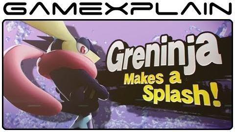 Greninja & Charizard Trailer for Super Smash Bros