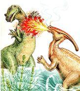 Duane Gish Parasaurolophus