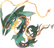 Mega Rayquaza- Artwork