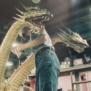 King Ghidorah Godzilla Heisei Konstruktion