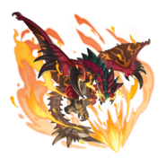 Dragalia Dreadking Rathalos