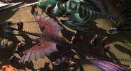 Wahnsinniger Zipper violett