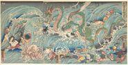 Utagawa Kuniyoshi Dragon King