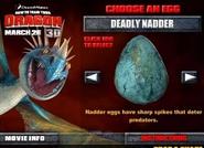 Tödlicher Nadder Ei