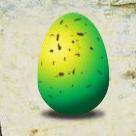 Felddrache Ei grün