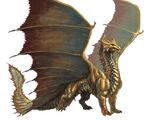 Metallische Drachen