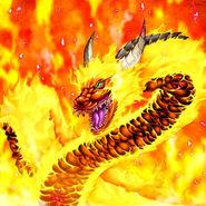 YuGiOh!, Karte, Monster, Sonneneruptions-Drache