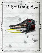 Exterminator-Drache Buch
